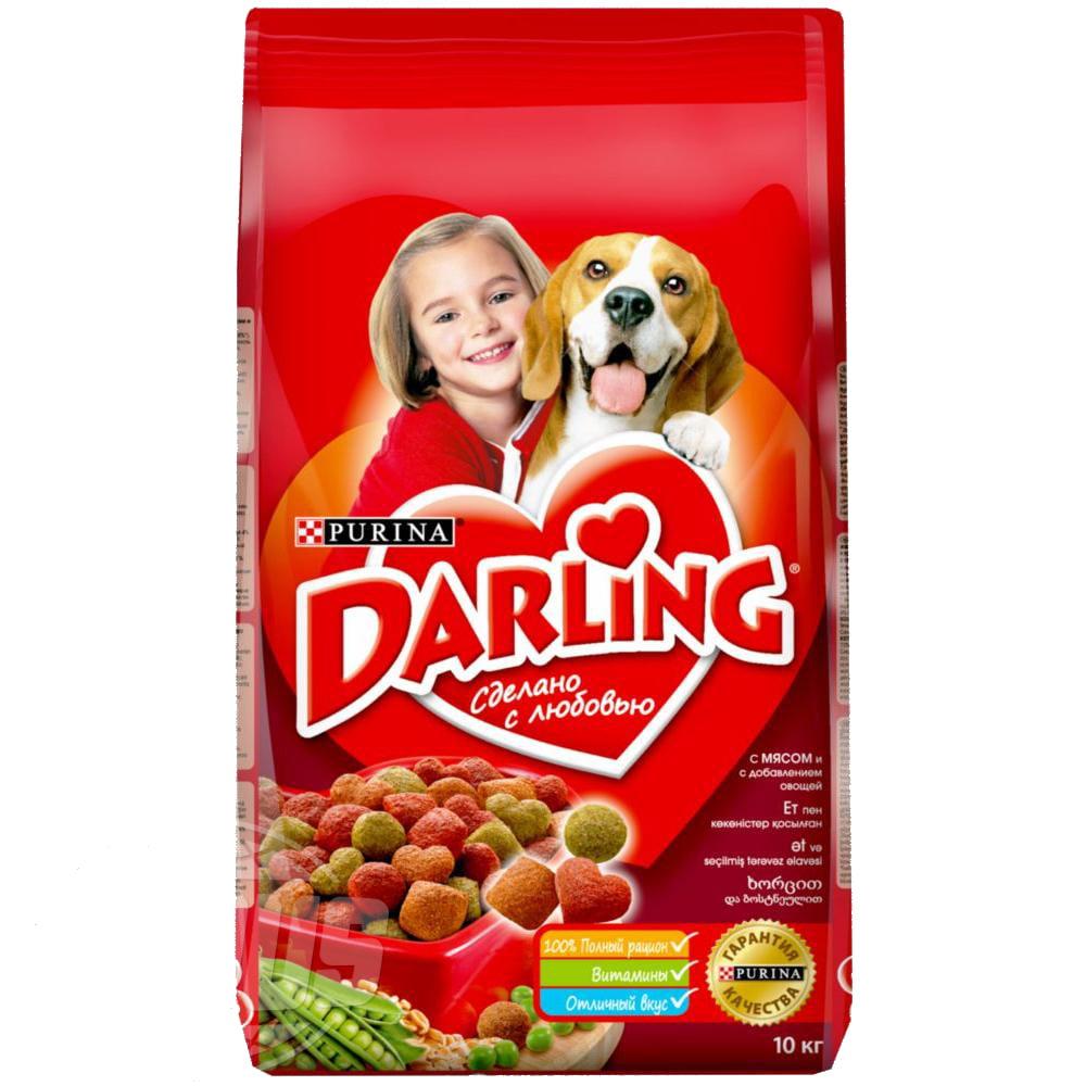 Darling д/собак Мясо/овощи, 10кг