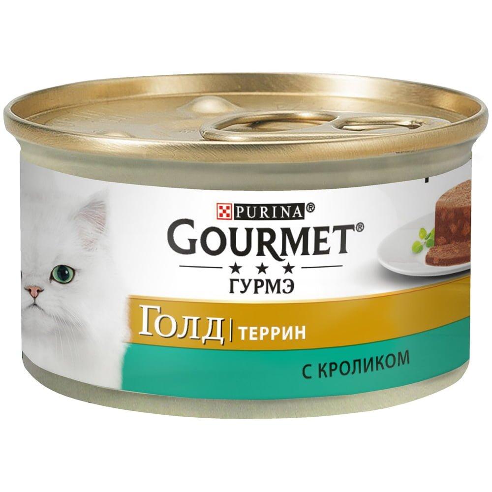 Gourmet Gold с кроликом по - французски 85г