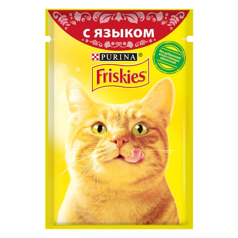 Friskies, с языком, 85гр