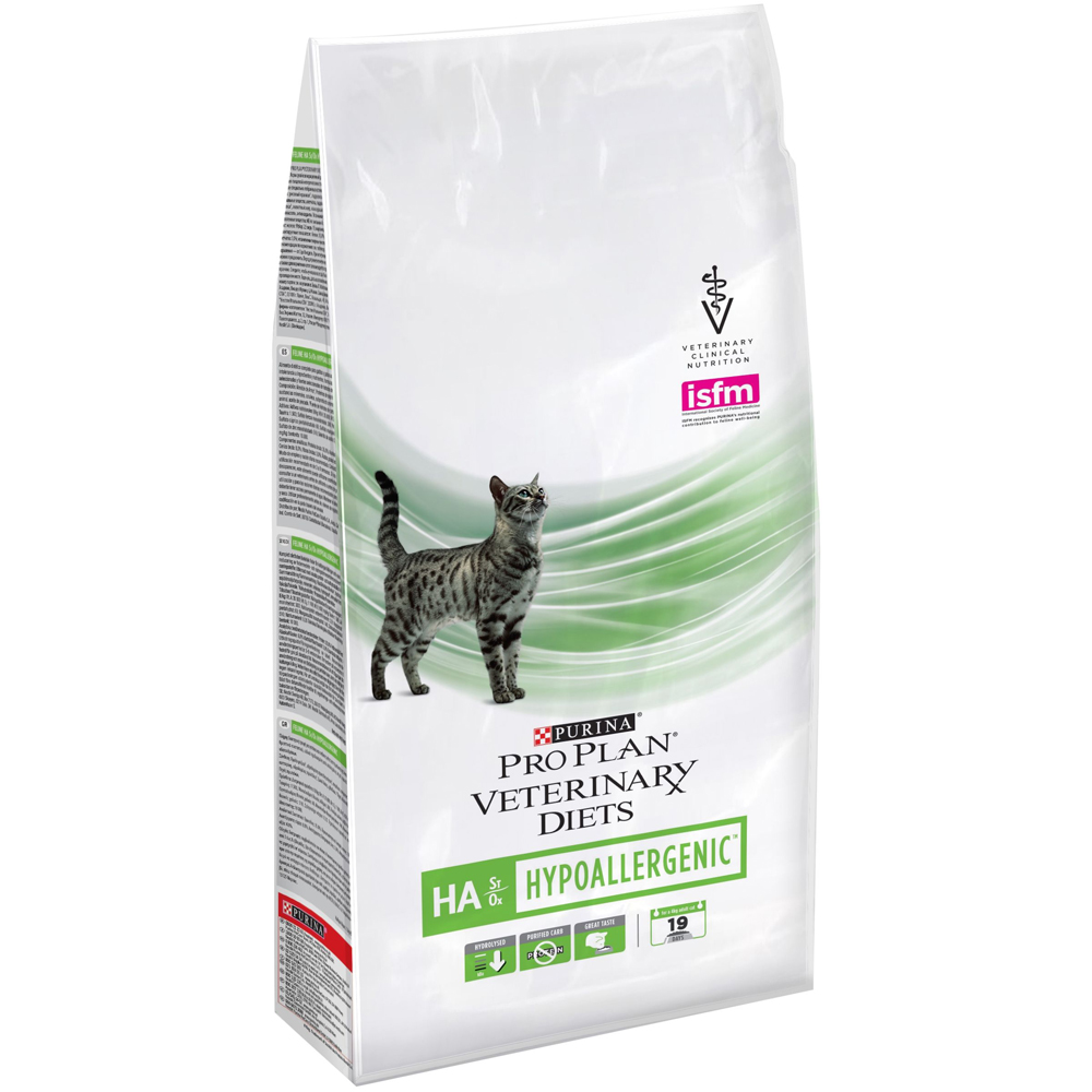 Pro plan veterinary diet HA HypoAllergenic д/кошек сух. (гипоаллергенный) 1,3кг