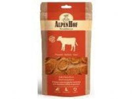AlpenHof Медальоны из филе теленка для мелких собак и щенков, 50 г. A510