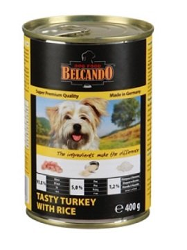 Belcando Tasty turkey with rice 400г