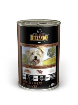 Belcando Best Quality meat with liver конс. 400г
