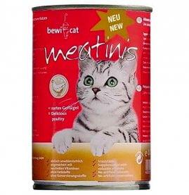 Bewi Cat конс. с домашней птицей 400г