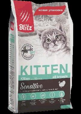 BLITZ Kitten, корм для котят, 2кг