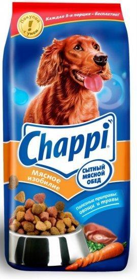 Chappi мясное изобилие 600г