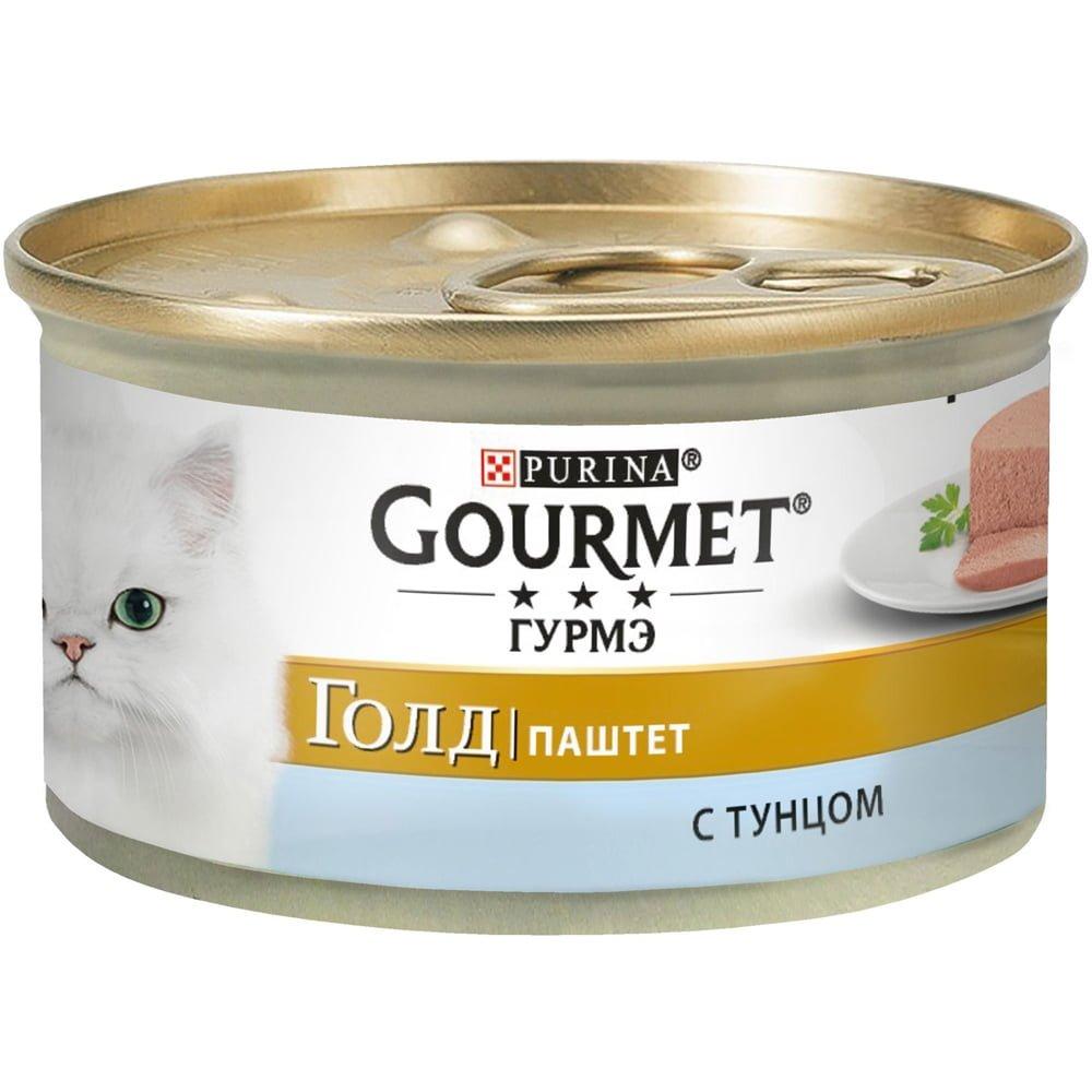 Gourmet Gold с тунцом 85г