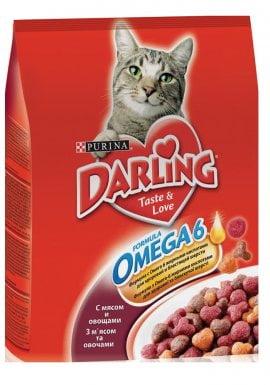 Darling д/кошек Мясо/овощи, 10кг