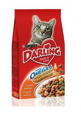 Darling д/кошек Птица/овощи 10кг