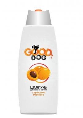 Good Dog Шампунь с ароматом АБРИКОСА для собак и щенков, 250мл