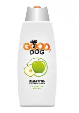 Good Dog Шампунь с ароматом ЯБЛОКА для собак и щенков, 250мл