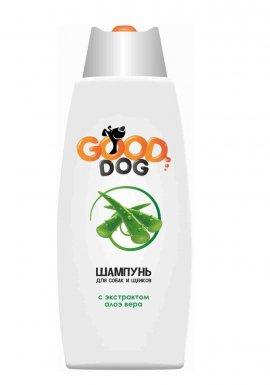 Good Dog Шампунь с экстрактом АЛОЭ ВЕРА для собак и щенков, 250мл