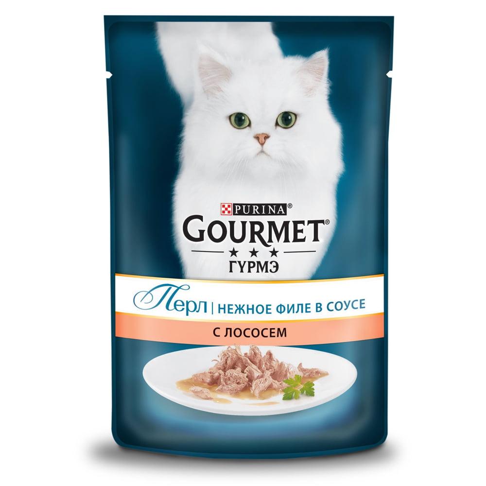 Gourmet Perle с лососем 85г
