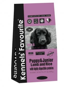 Kennels' Favourite Puppy&Junior Lamb&Rice 12,5кг