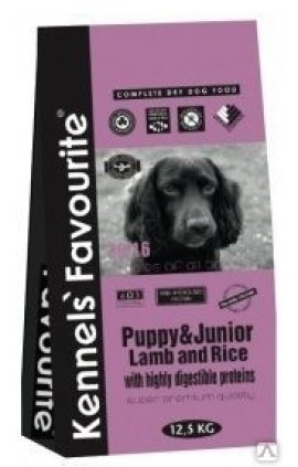 Kennels` Favourite Puppy&Junior Lamb&Rice 20кг