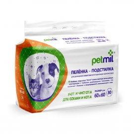 Пеленки PetMil 60*60 уп.30шт