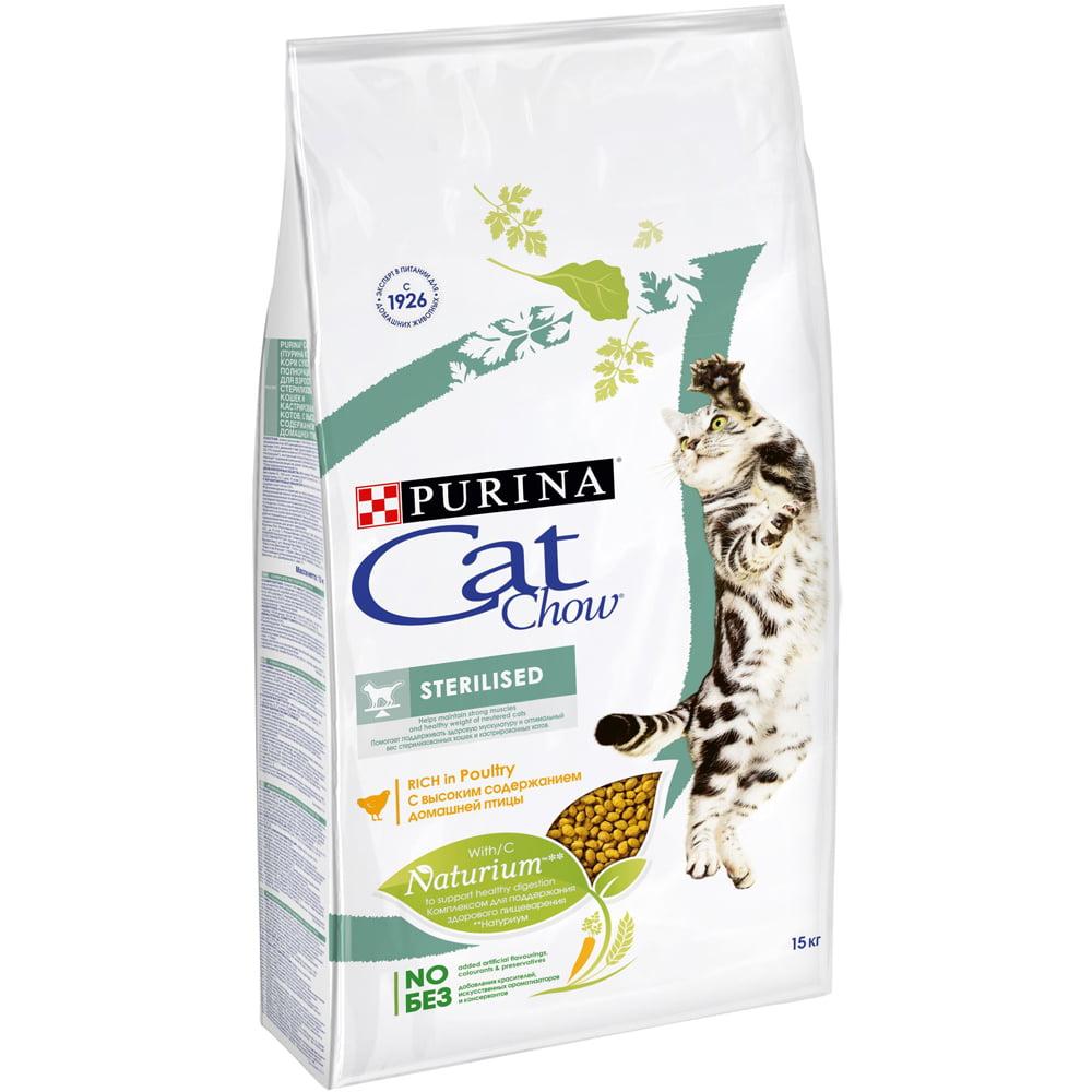 Cat Chow Sterilized, 15кг