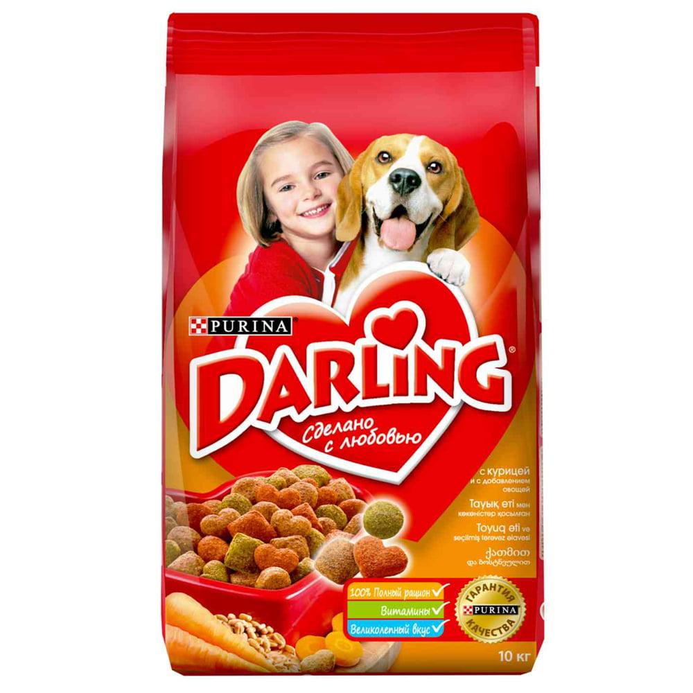 Darling д/собак Птица/овощи, 10кг