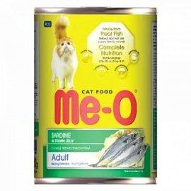 Me-O консервы для кошек, сардина, 400г