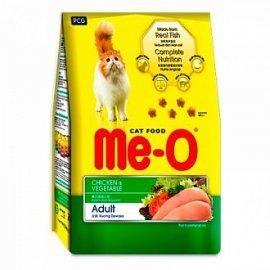 Me-O корм для кошек, курица с овощами, 7кг
