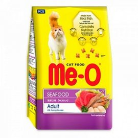 Me-O корм для кошек, морепродукты, 7кг
