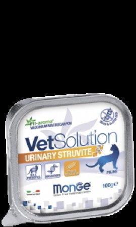 Monge VetSolution Cat Urinary Struvite паштет, 100г/4625