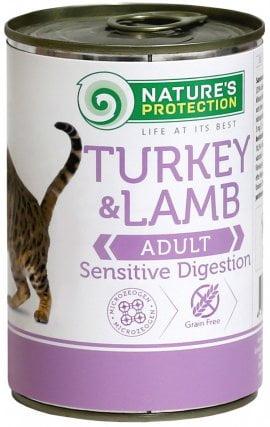 NP Cat Sensible Digestion Turkey&lamb консервы для кош 400 гр