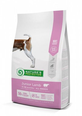 NP Junior Lamb 2-18 months All breed dog, 2кг
