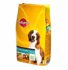 Pedigree для взрослых собак всех пород говядина 2,2кг