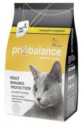 ProBalance д/кошек Adult Immuno курица/индейка, 1,8кг