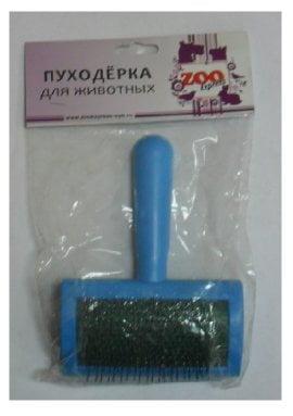 Пуходёрка пластмассовая большая без капли 23051