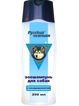 Шампунь Русский чемпион с кондиционером для собак 250мл