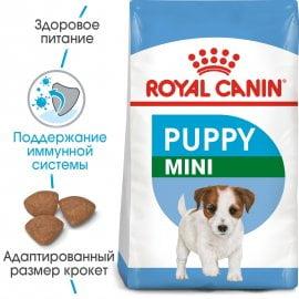 Корм MINI PUPPY 4кг для щенков мелких пород