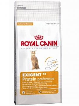 Корм EXIGENT 42 PROTEIN 10кг для привередливых кошек
