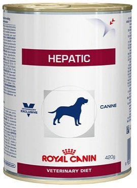 HEPATIC DOG CAN 420г