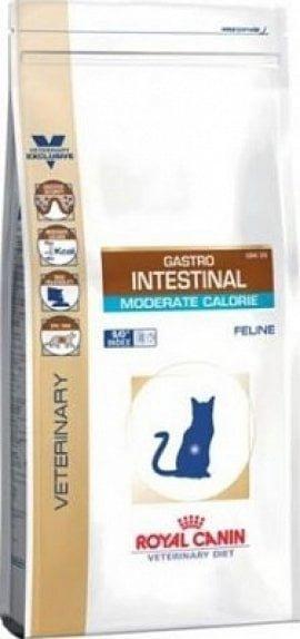 GASTRO INTESTINAL MODERATE CALORIE CAT, 2кг