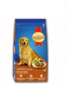 SMARTHEART корм для собак, со вкусом говядины и риса, 15кг