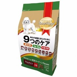 SMARTHEART GOLD корм для собак мелких пород, со вкусом ягненка и риса, 7,5кг