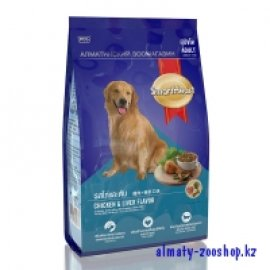 SMARTHEART корм для собак, со вкусом ягненка и риса, 15кг