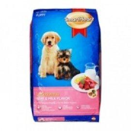 SMARTHEART корм для щенков, со вкусом говядины и молока, 10кг