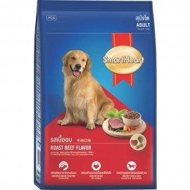 SMARTHEART корм для собак, со вкусом говядины и риса, 500г