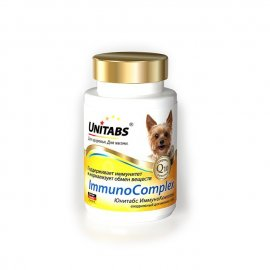 Unitabs ImmunoComplex ежедневные для мелк соб (100таб), U206