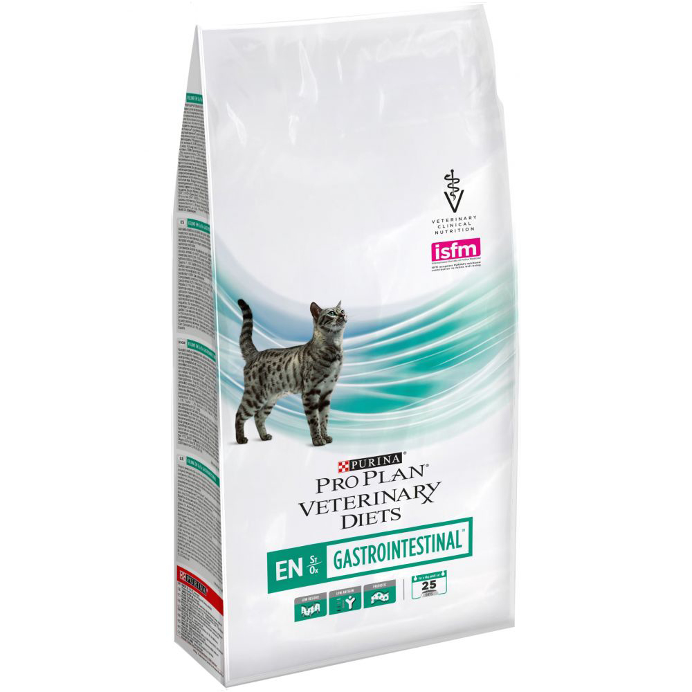 Pro plan veterinary diet EN Gastrointestinal д/кошек сух. (заболев. Желуд.-кишечного тракта) 1,5кг