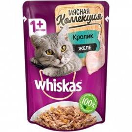WhiskasMeaty кролик пауч 85 гр