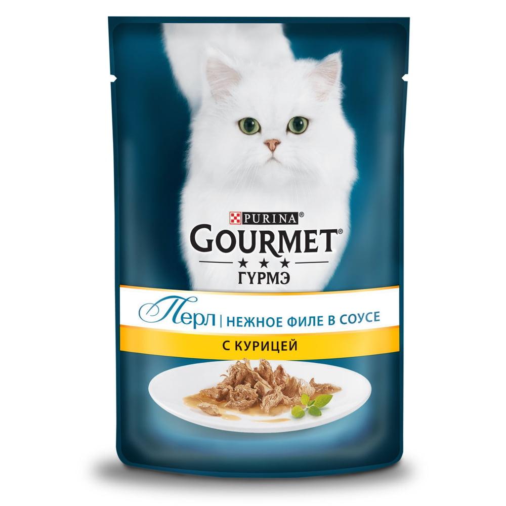 Gourmet Perle с курицей 85г