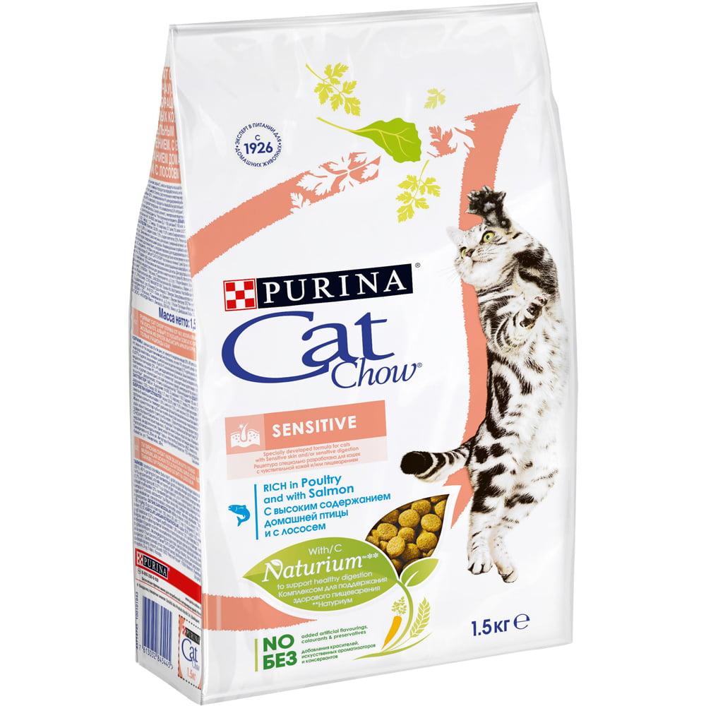 Cat Chow Sensitive, 1,5кг