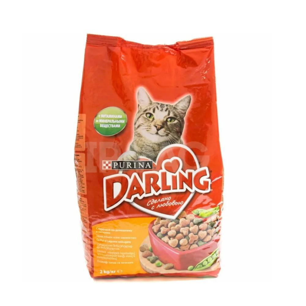Darling д/кошек Птица/овощи, 2кг