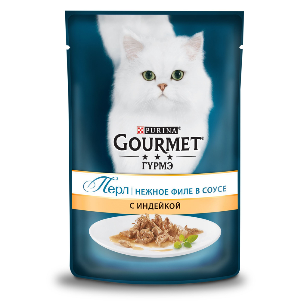 Gourmet Perle с индейкой 85г