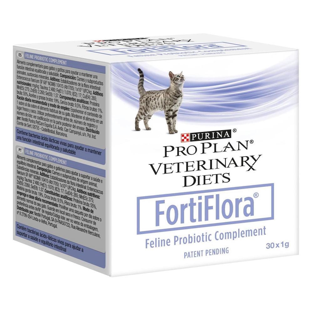 Pro plan veterinary diet д/кошек Fortiflora Feline Nutr Compl (пробиотическая добавка) 30 уп.*1г.