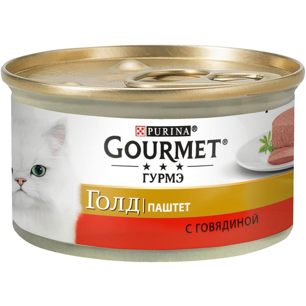 Gourmet Gold с говядиной 85г